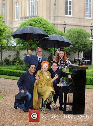 Sanjeev Bhaskar and Vivienne Westwood