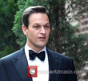 Josh Charles on film location of The Good Wife at the Plaza Hotel New York City, USA - 31.08.10