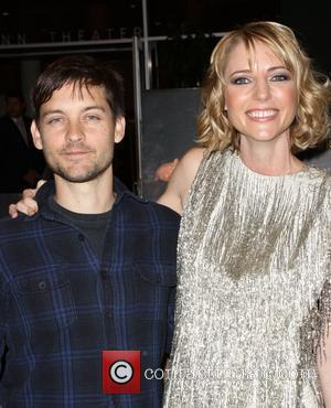 Tobey Maguire and Shana Feste