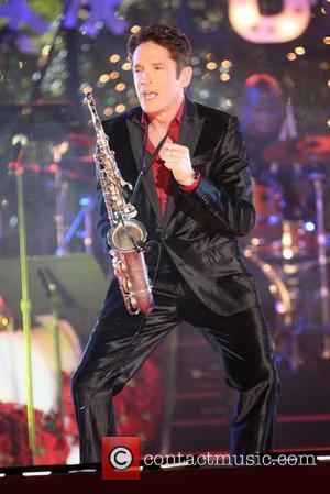 Dave Koz The Annual Tree Lighting at The Grove  Los Angeles, California, USA - 21.11.10