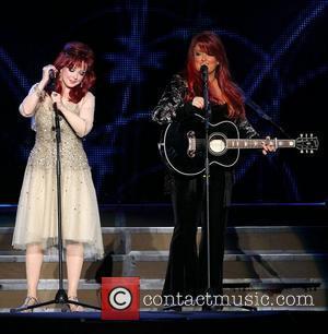 Naomi Judd and Wynonna Judd The Judds 'The Last Encore Tour' at Mandalay Bay Event Center at Mandalay Bay Resort...