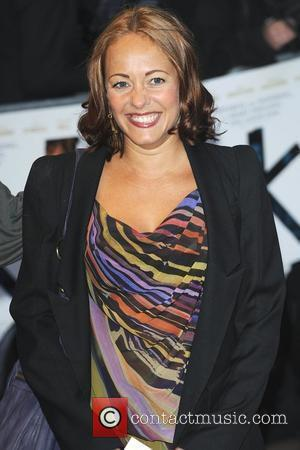 Sarah Cawood  'The Kid' - UK premiere held at the Odeon West End - Arrivals London, England - 15.09.10