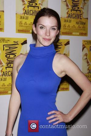 Betty Gilpin Opening night of the Off-Broadway production of 'The Language Archive' at the Laura Pels Theatre at the Harold...