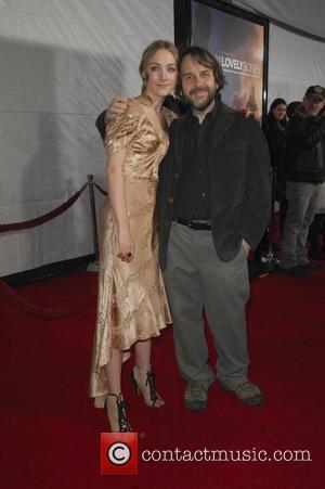 Saoirse Ronan and Peter Jackson