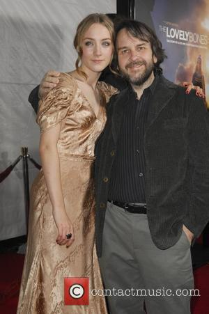 Saoirse Ronan and Director Peter Jackson