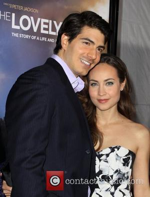 Brandon Routh and Courtney Ford The Hollywood premiere of 'The Lovely Bones' held at Grauman's Chinese Theatre - Arrivals Los...