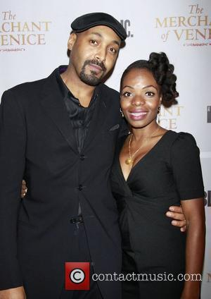 Jesse L. Martin and Marsha Stephanie Blake  Opening night after party celebration for The Public Theater Broadway production of...