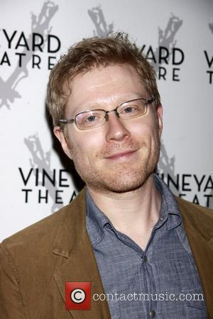 Anthony Rapp The opening of the Off-Broadway production of 'The Metal Children' at the Vineyard Theatre.  New York City,...