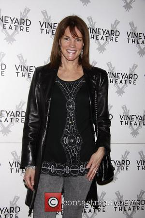 Carolyn McCormick  The opening of the Off-Broadway production of 'The Metal Children' at the Vineyard Theatre.  New York...