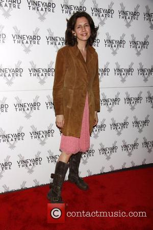 Jessica Hecht  The opening of the Off-Broadway production of 'The Metal Children' at the Vineyard Theatre.  New York...