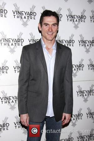 Billy Crudup departing the opening of the Off-Broadway play 'The Metal Children' at the Vineyard Theatre.  New York City,...