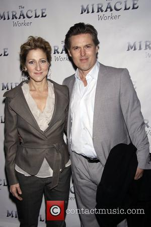 Edie Falco and Bill Sage