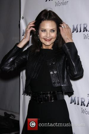Lynda Carter Opening night for the Broadway production 'The Miracle Worker' held at the Circle In the Square Theatre....