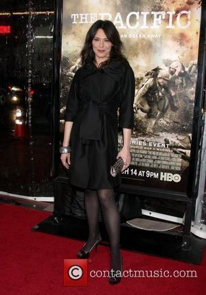 Michelle Forbes Los Angeles Premiere of HBO's new mini series 'The Pacific' held at the Grauman's Chinese Theater Hollywood, California...