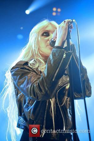 Taylor Momsen fronts The Pretty Reckless performing live at the O2 Shepherds Bush Empire London, England - 16.12.10