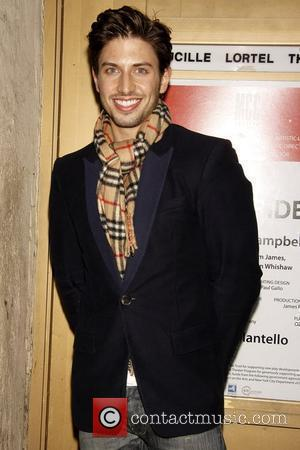 Nick Adams Opening night of the Off-Broadway play 'The Pride' at the Lucille Lortel Theatre - Arrivals New York City,...