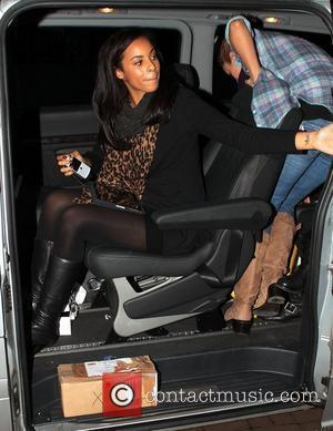 Rochelle Wiseman The Saturdays leave 107.6 Juice FM's Style Awards Liverpool, England - 23.10.10