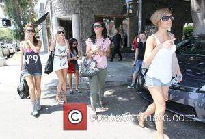 Una Healy, Mollie King, Rochelle Wiseman and The Saturdays