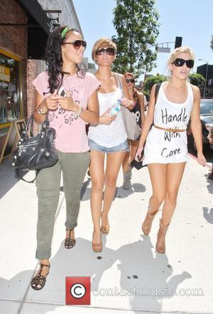 Rochelle Wiseman, Mollie King and The Saturdays