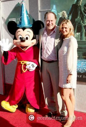 Mickey Mouse, Jon Turteltaub and Amy Eldon Creative Visions Foundation benefit screening of 'The Sorcerer's Apprentice' held at Disney Studios...