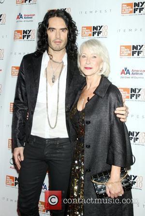 Russell Brand and Helen Mirren