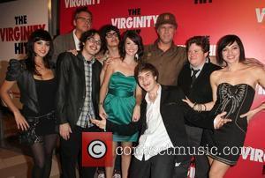 Sunny Leone, Adam Mckay, Jacob Davich and Will Ferrell