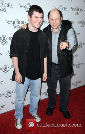 Jason Alexander and son Gabriel  The screening of 'The Warrior's Way' at the CGV Cinemas  Los Angeles, California...