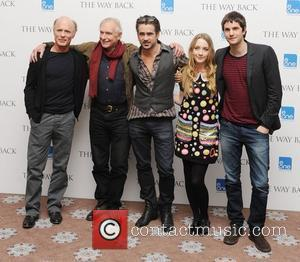 Ed Harris, Colin Farrell, Jim Sturgess, Peter Weir and Saoirse Ronan