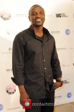 Akon Think Pink Rocks concert to benefit breast cancer research charities at Mizner Park amphitheatre - Backstage Boca Raton, Florida...