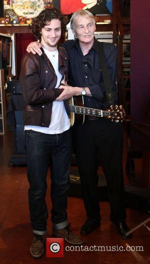 Aaron Johnson and John Lennon