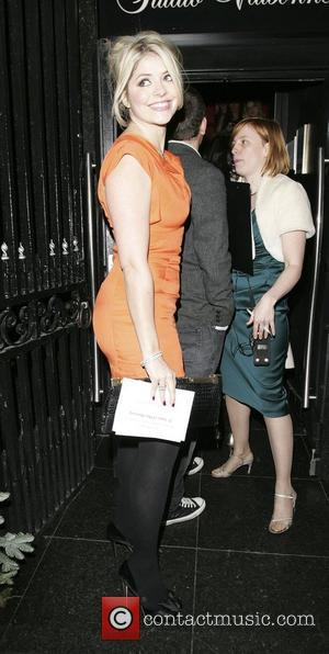 Holly Willoughby This Morning 21st Birthday Party held at Studio Valbonne London, England - 10.12.09