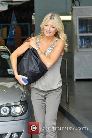 Gabby Roslin Seen Leaving The Itv Studios In London