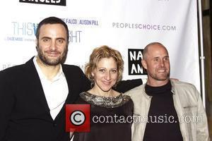 Dominic Fumusa and Edie Falco