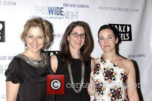 Edie Falco, Anne Kauffman and Chloe Moss