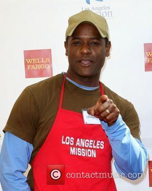 Blair Underwood Anne and Kirk Douglas Center host a Thanksgiving Meal for the Homeless held at the Los Angeles Mission....