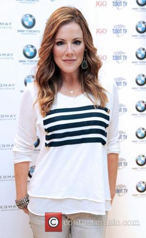 Kathleen Robertson  BMW Toronto gift lounge held at the Hugo store during the 35th Toronto International Film Festival Toronto,...