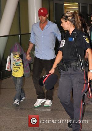Brian Austin Green With Son Kassius Green at the 35th Toronto International Film Festival 2010 Toronto, Canada - 09.09.10