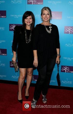 Tiffani Thiessen and Lonni Paul Actress Tiffani Thiessen and celebrity designer Lonni Paul celebrate launch of PetitNest at Azure Luxury...