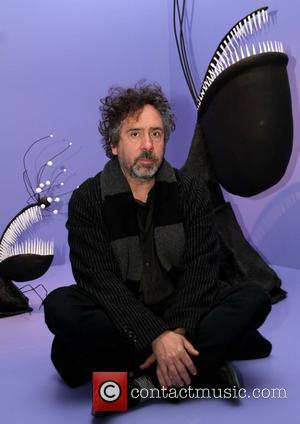 Tim Burton  appearance at Bell Tiff Lightbox for the media event of 'Tim Burton Exhibition' organized by The Museum...