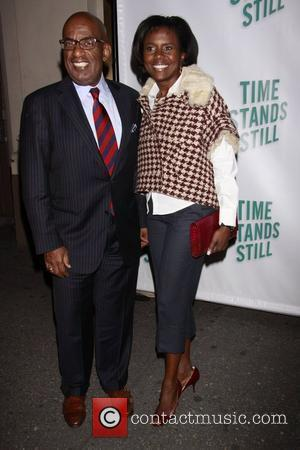Al Roker and Deborah Roberts Opening night of of the Broadway production of 'Time Stands Still' at the Cort Theatre...