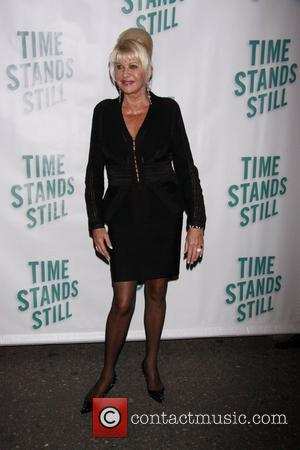 Ivana Trump Opening night of of the Broadway production of 'Time Stands Still' at the Cort Theatre - Arrivals....