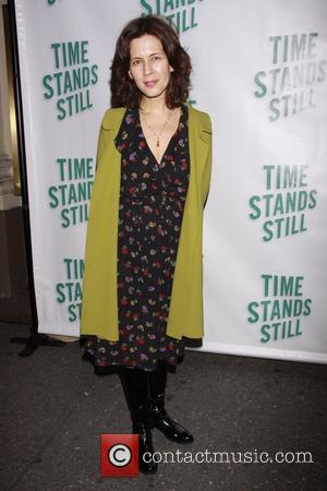 Jessica Hecht Opening night of of the Broadway production of 'Time Stands Still' at the Cort Theatre - Arrivals....
