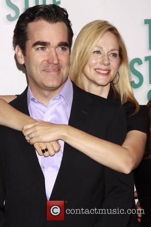 Laura Linney and Brian d'Arcy James  'Time Stands Still' photocall held at Sardis Restaurant. New York City, USA -...