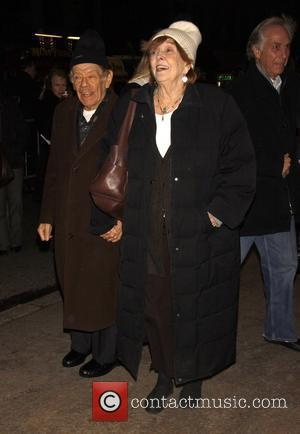 Jerry Stiller and Anne Meara Opening night of the play 'Time Stands Still' at the Samuel J. Friedman Theatre -...