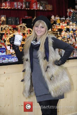 Tina O'Brien  opens the Manchester Christmas Market Manchester, England - 18.11.10