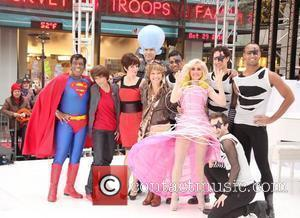 Al Roker, Natalie Morales, Tina Fay, Will Farrell, Ann Curry, Meredith Vieira  NBC Universal 'Today Show' celebrates Halloween at...