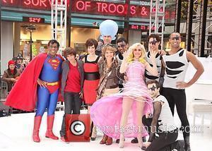 Al Roker, Natalie Morales, Tina Fay, Will Farrell, Ann Curry, Meredith Vieira  NBC Universal 'Today Show' celebrates Halloween at...