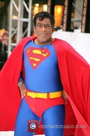 Al Roker as Superman NBC's 'Today Show' celebrates Halloween at Rockefeller Center New York City, USA - 29.10.10