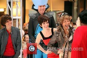 Will Ferrell, Ann Curry and Tina Fey