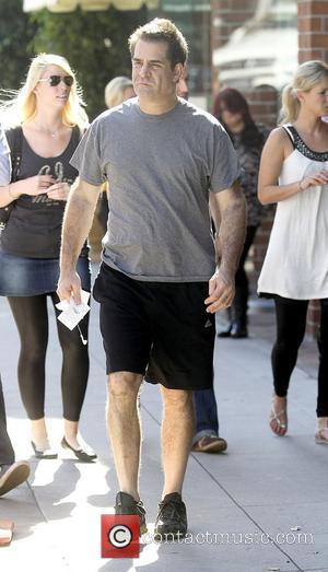 Todd Glass comedian leaving Anastasia Beverly Hills Salon wearing black shorts Los Angeles, California - 26.10.10